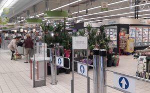 Supermarché Simply Market Centre Commercial du Maupas à Verneuil sur Seine