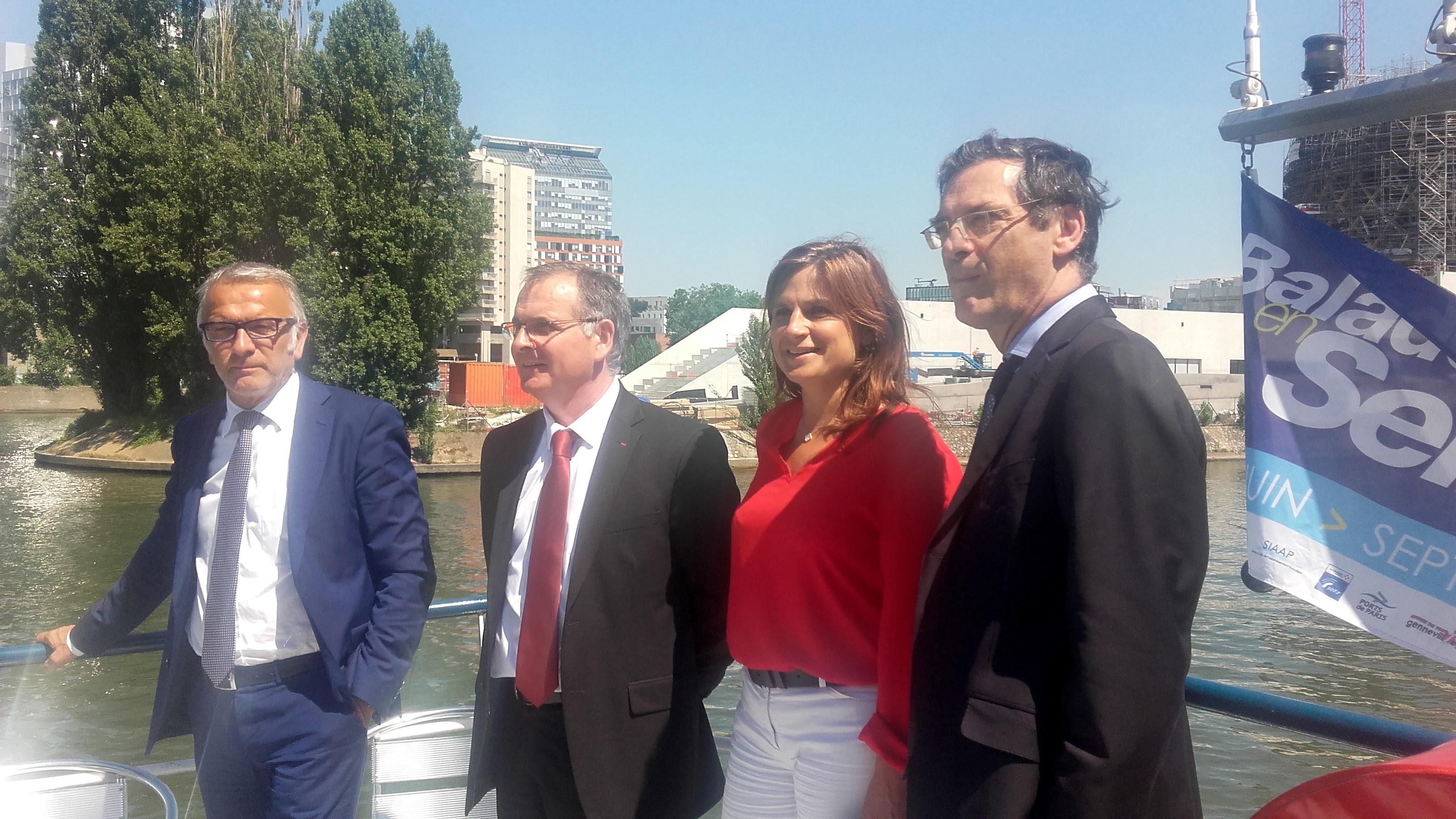 L'Axe Seine, cinq départements s'associent pour mieux développer et valoriser