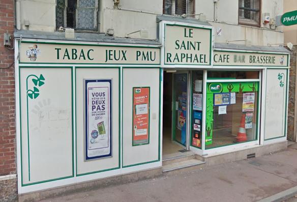 Le Saint Raphael bar tabac à Verneuil sur Seine