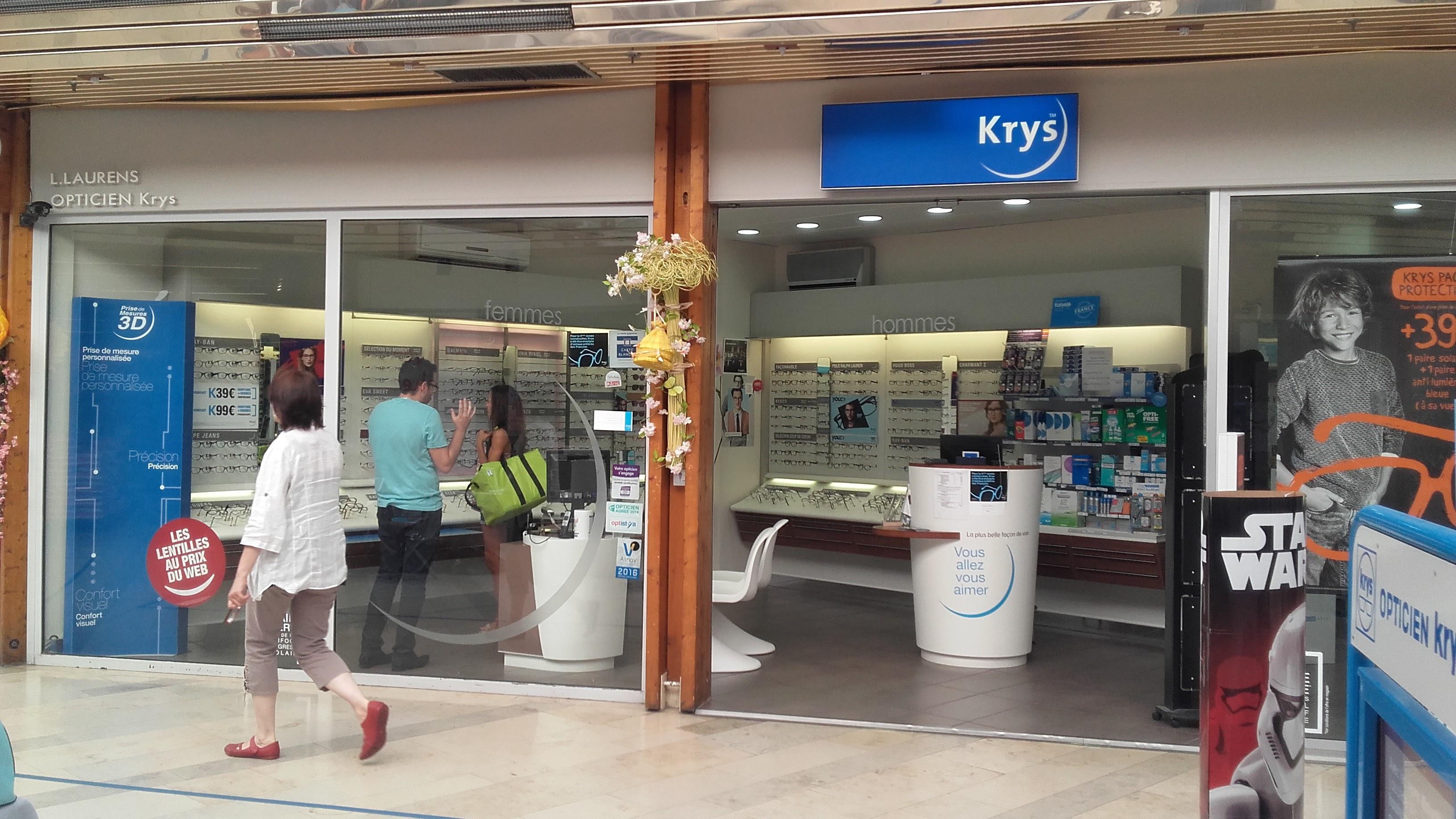 Krys Opticien dans le centre commercial du Val de Seine à Vernouillet