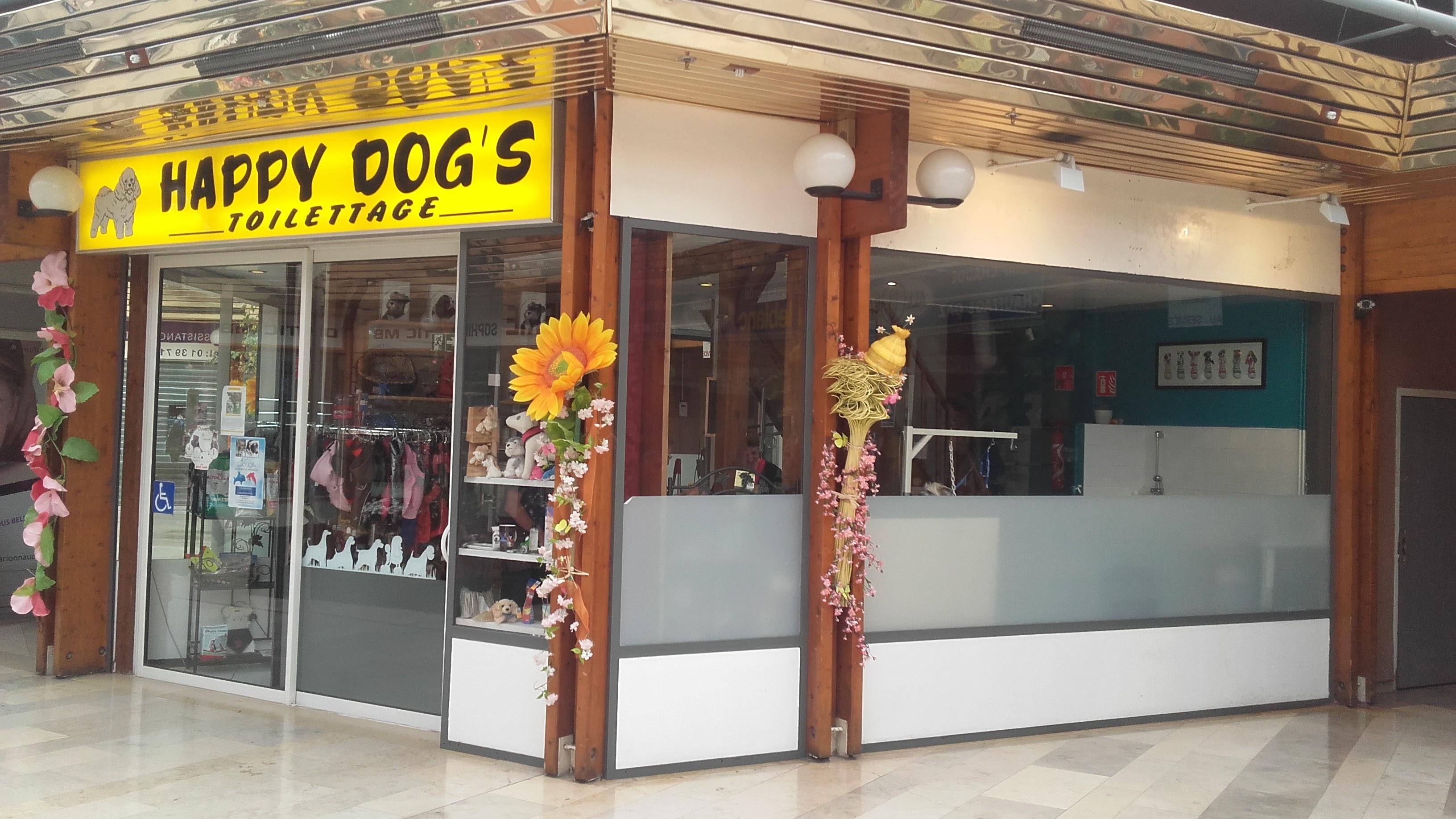 HAPPY DOG'S toilettage des toutous et des chats au centre commercial du Val de Seine à Vernouillet