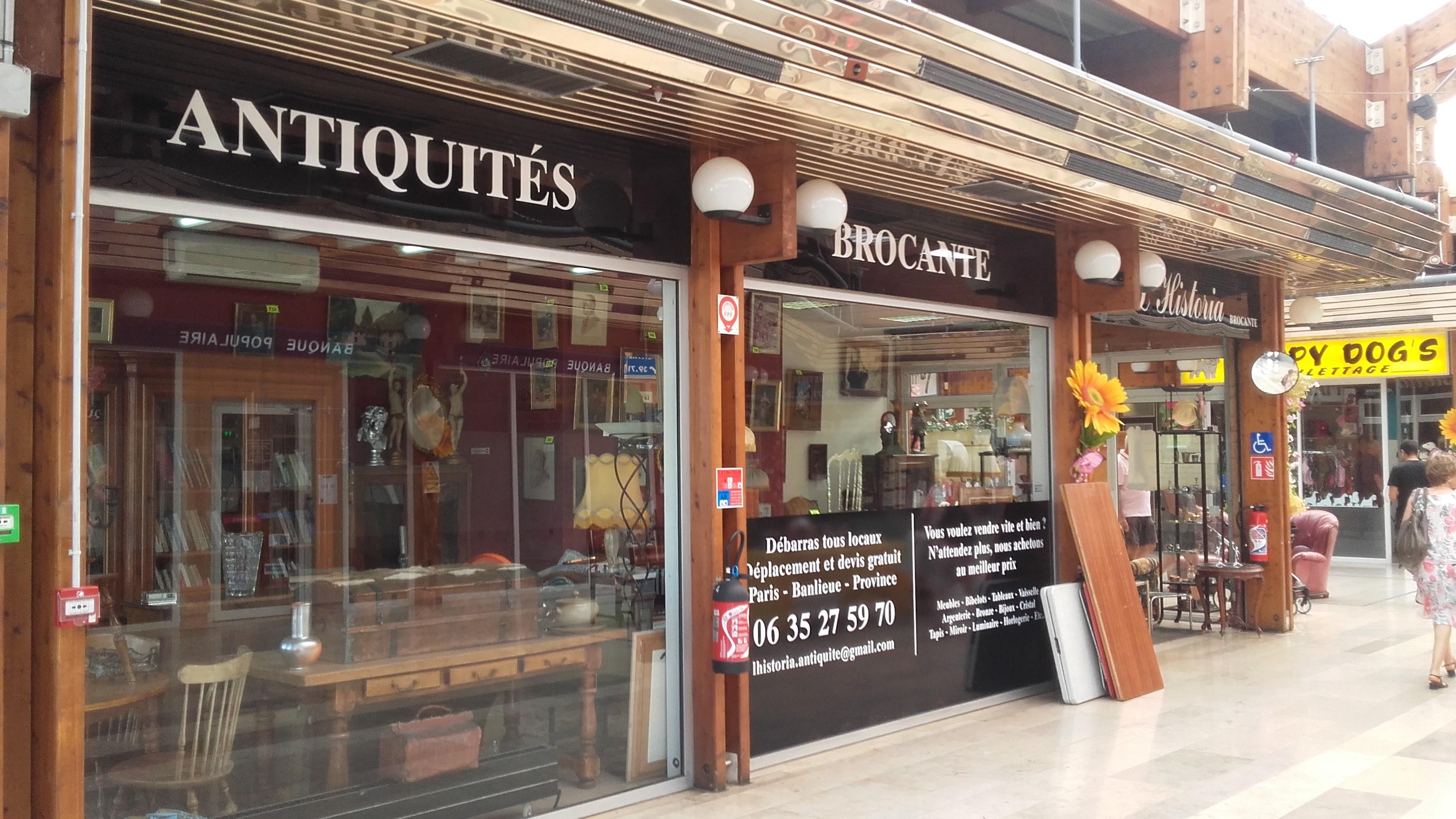 L'historia, Antiquités – Brocante au centre commercial du Val de Seine à Vernouillet