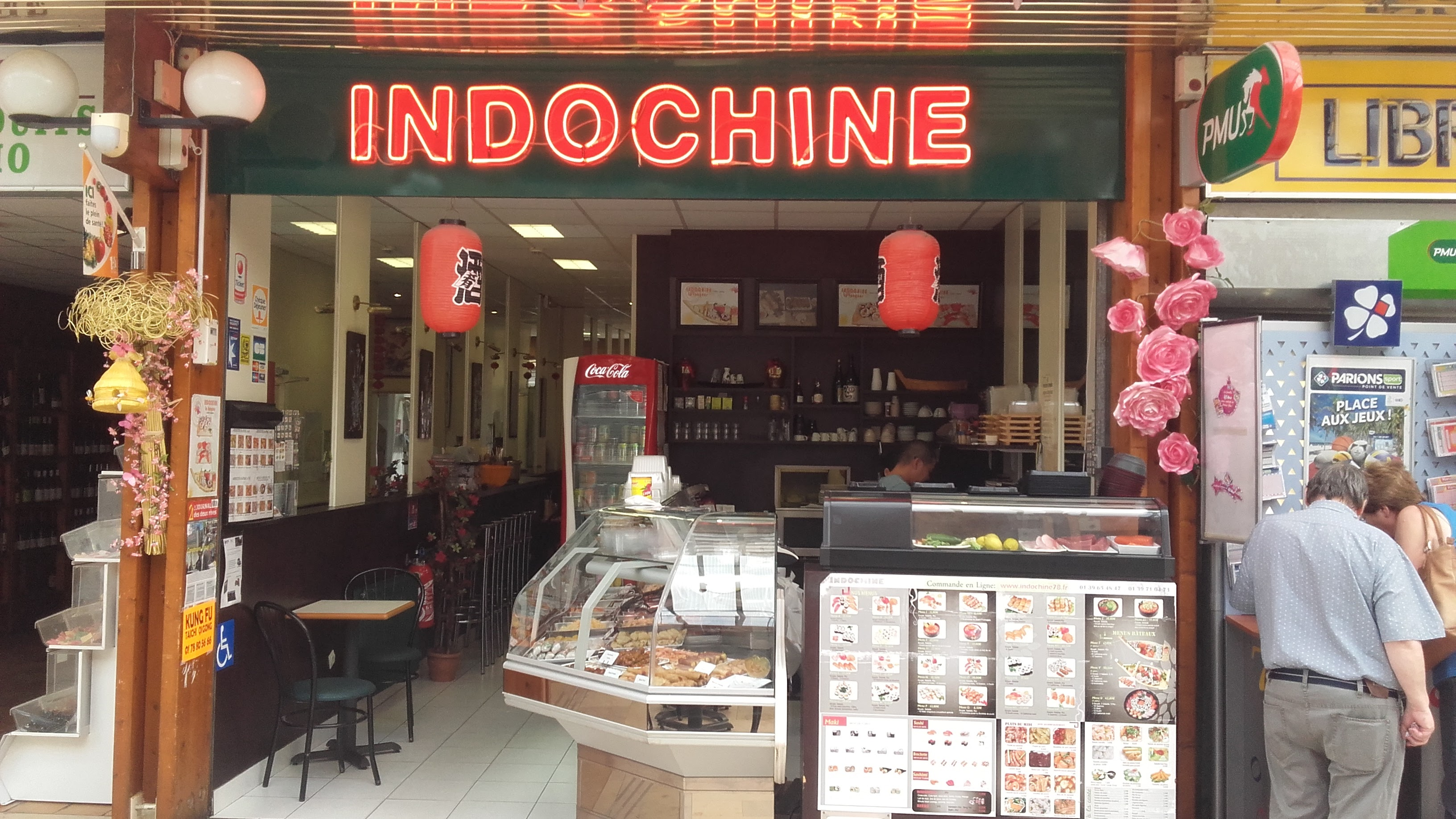 Indochine, restaurant asiatique au centre commercial du Val de Seine à Vernouillet