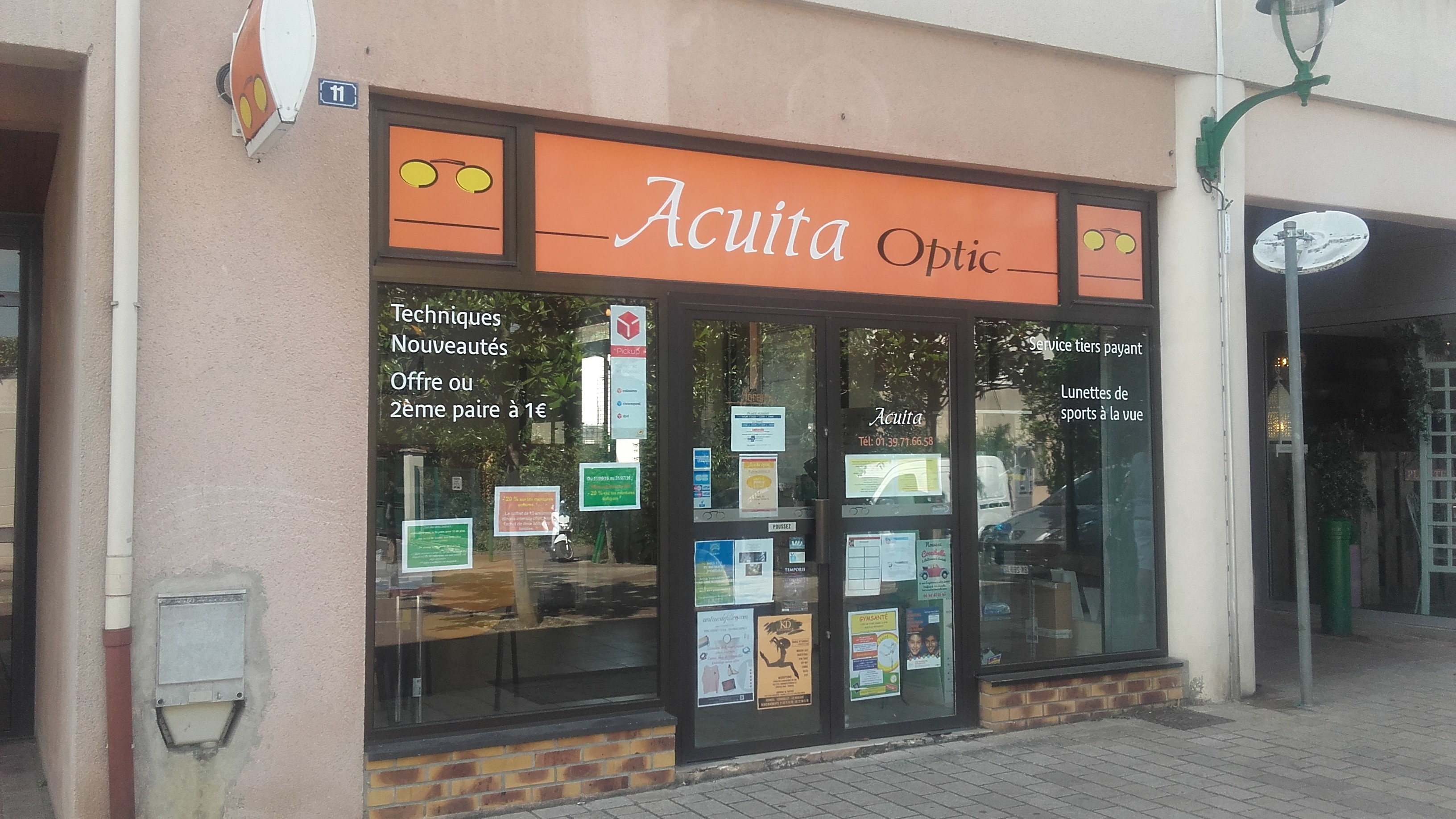 Acuita Optic dans le centre ville de Vernouillet