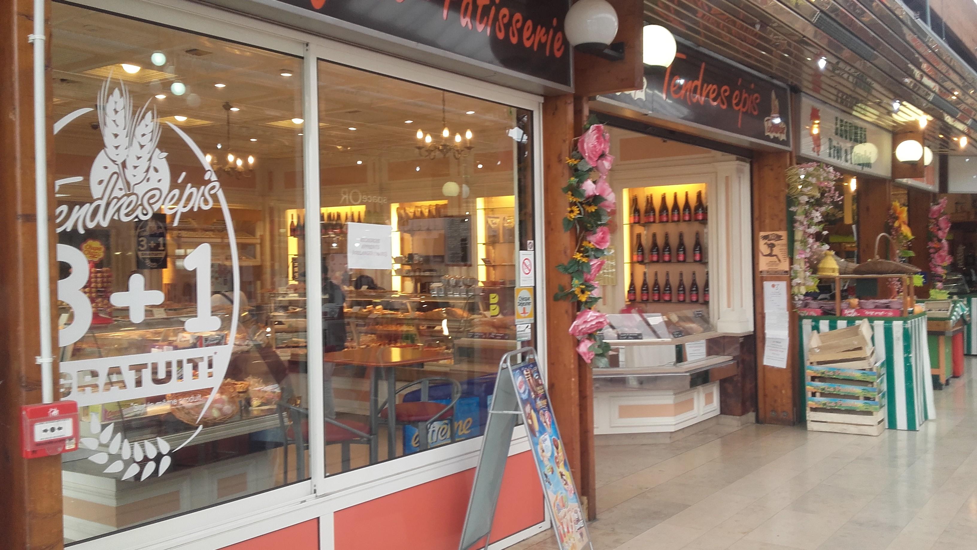 Boulangerie tendres épis au centre commercial du Val de Seine