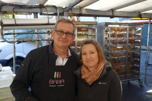 BARA Volailler Rotisseur au marché Verneuil sur Seine