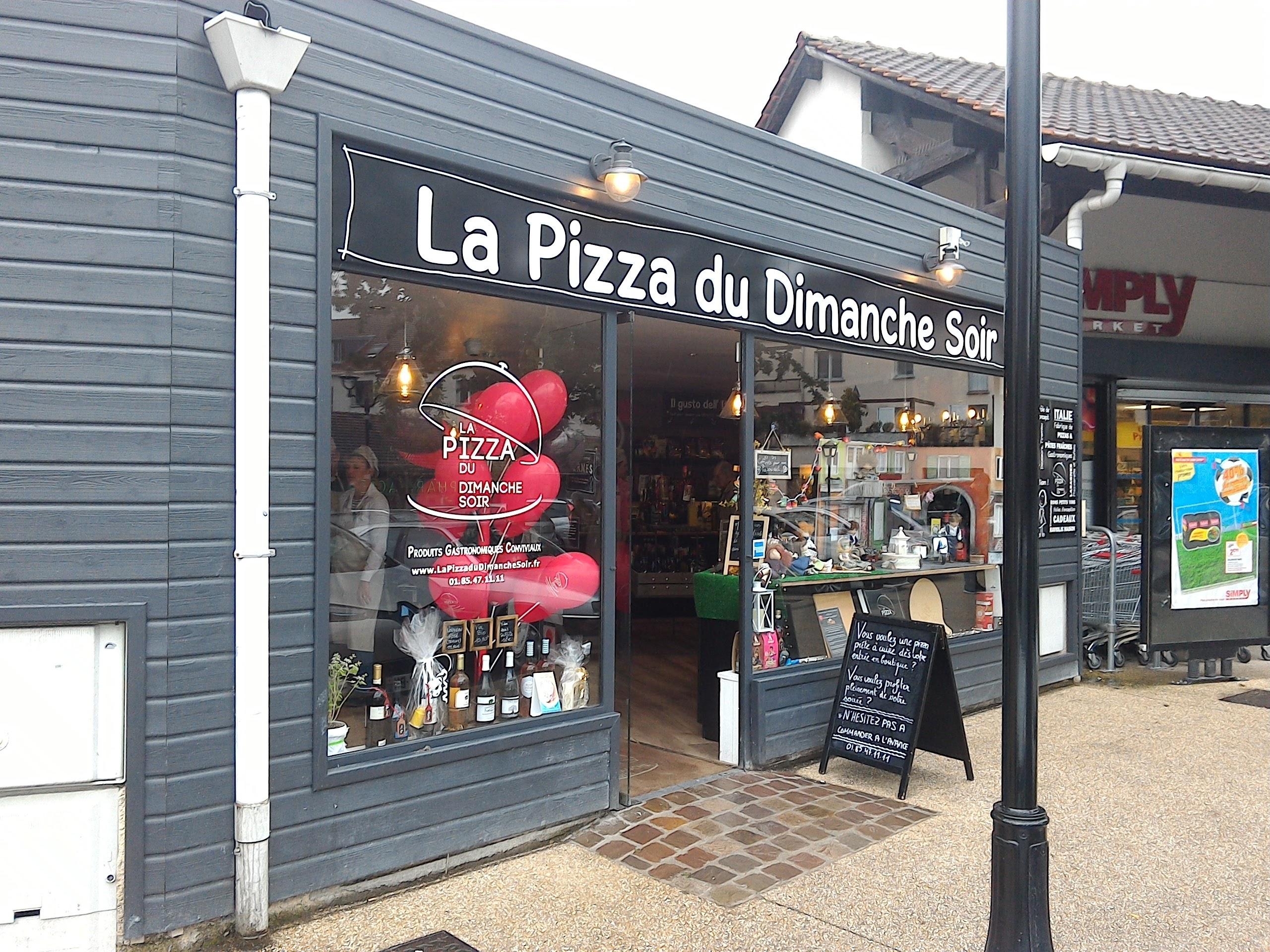 La Pizza du Dimanche Soir à Verneuil sur Seine