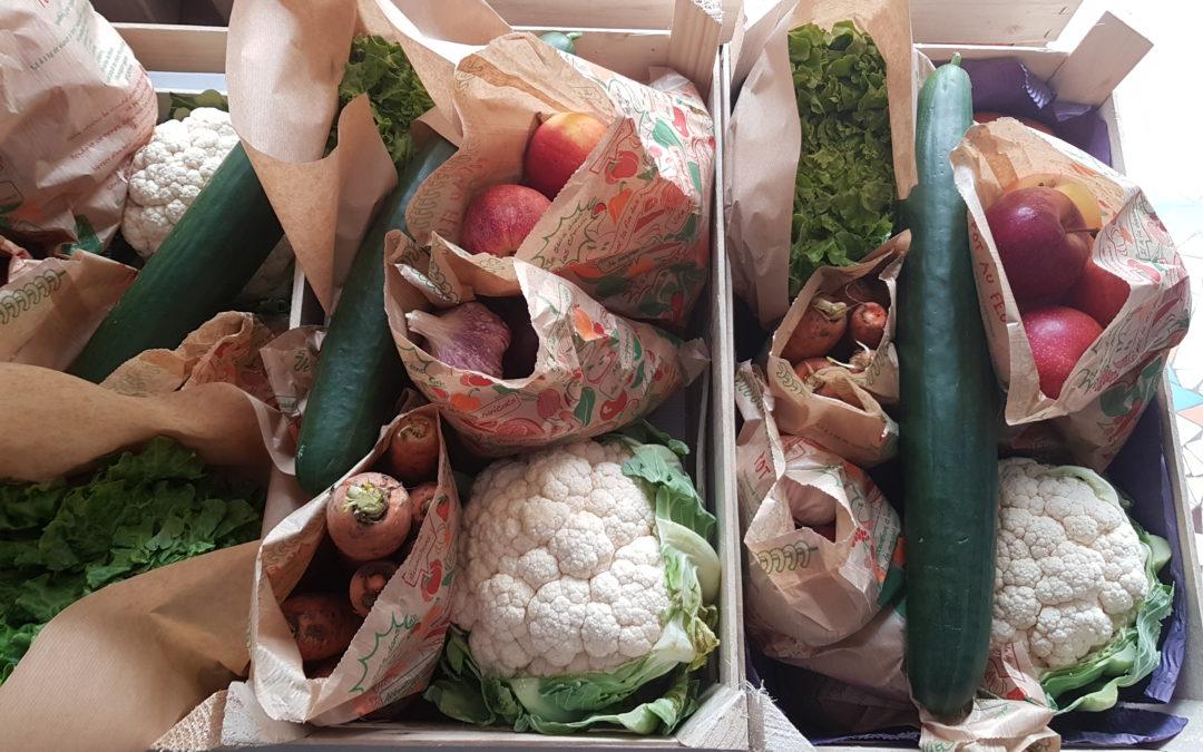 Les paniers de légumes et fruits de saison de Joël PICARD à retirer chaque mercredi et samedi au relais du journal des deux rives à Triel-sur-Seine