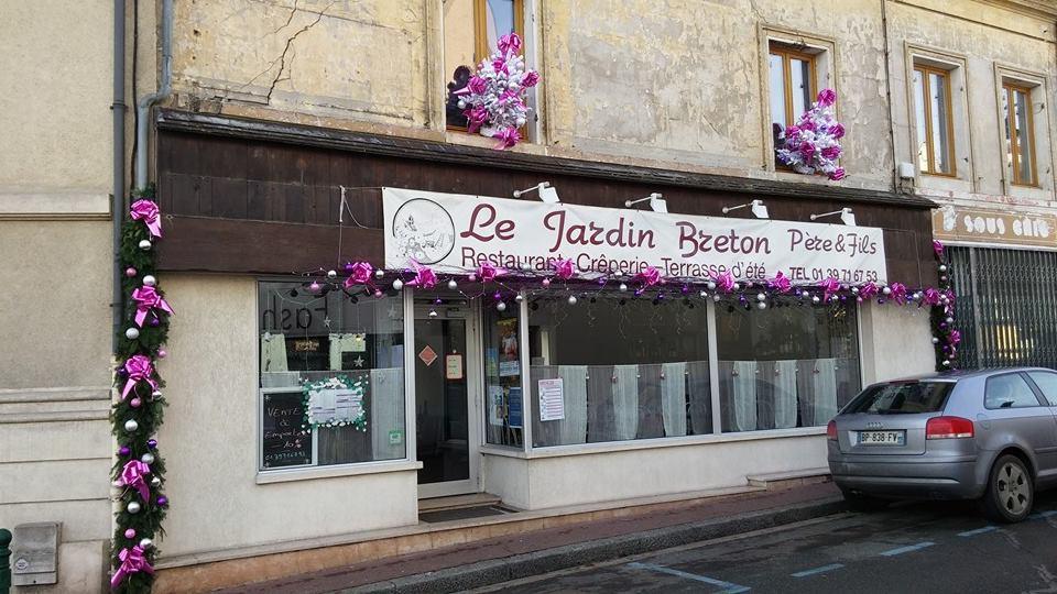 Restaurant Le Jardin Breton à Verneuil sur Seine