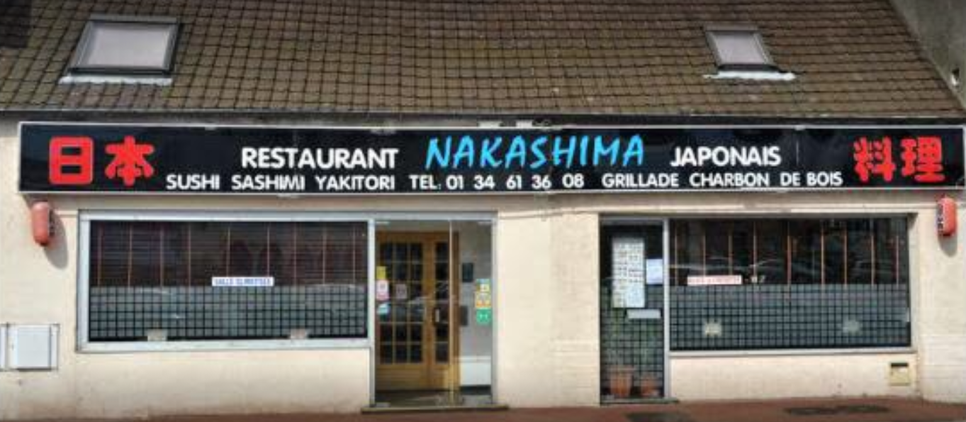 Restaurant japonais « Nakashima » à Verneuil sur Seine