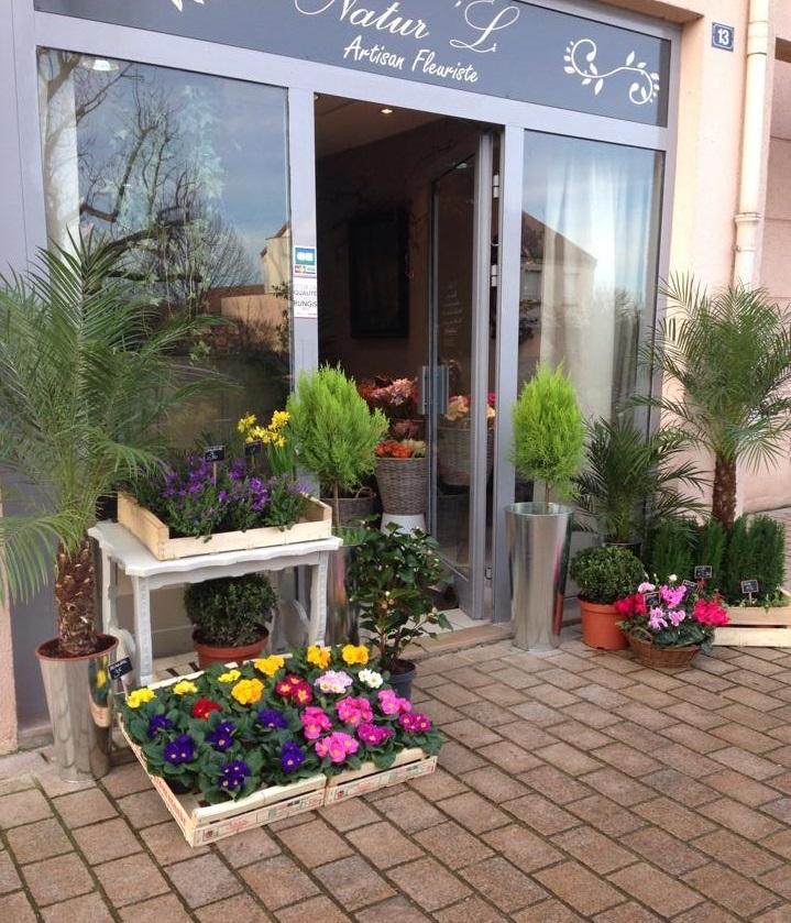 Natur'L, fleuriste à Vernouillet en centre ville