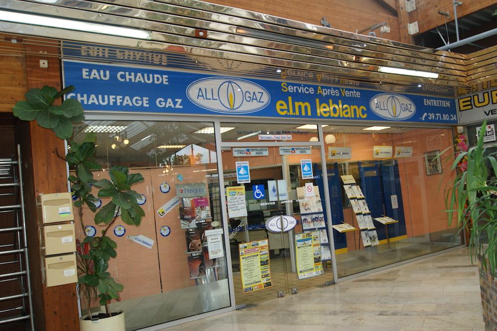 Allo gaz dépannage au centre commercial du Val de Seine