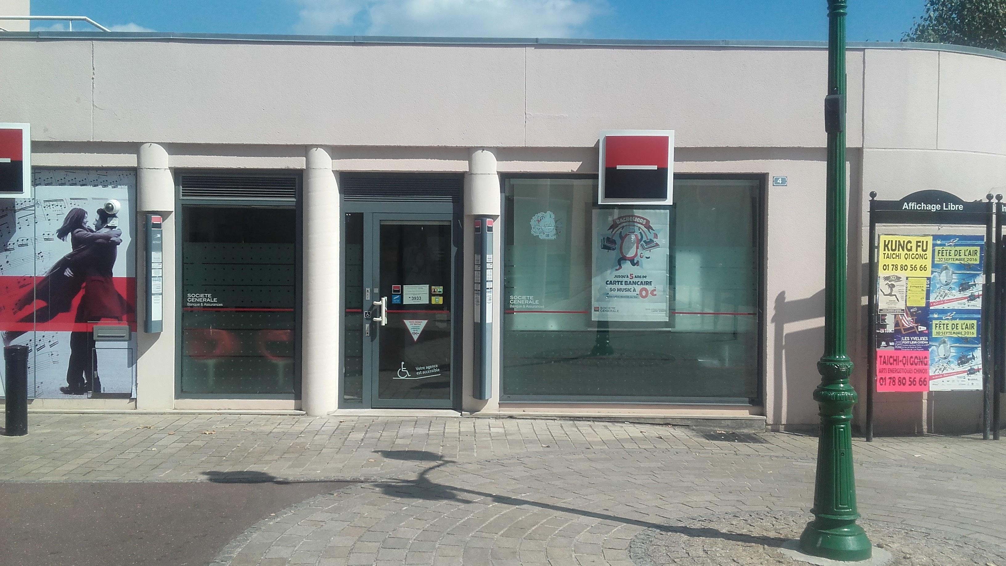 La Société Générale dans le centre ville de Vernouillet
