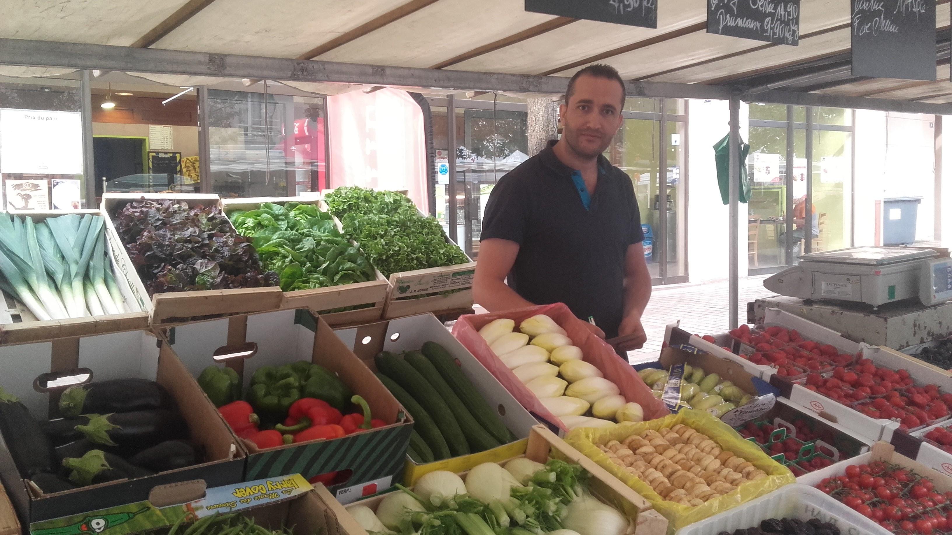 Les Vergers de l'Oise – Fruits & Légumes – Marché de Vernouillet place Charles de Gaulle