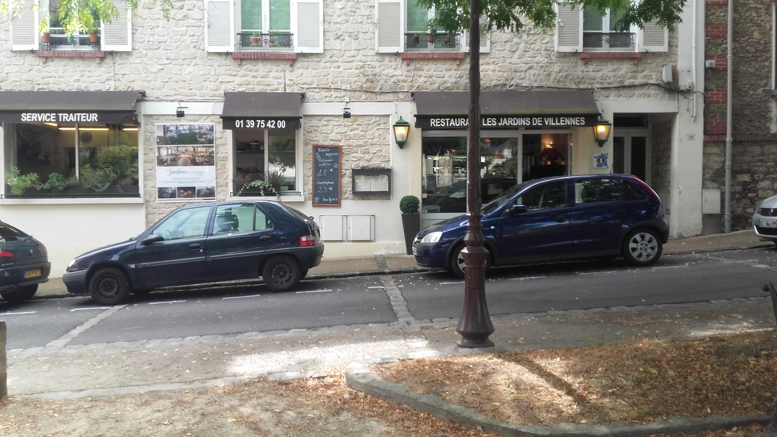 Restaurant Les Jardins de Villennes dans le centre ville de Villennes sur Seine