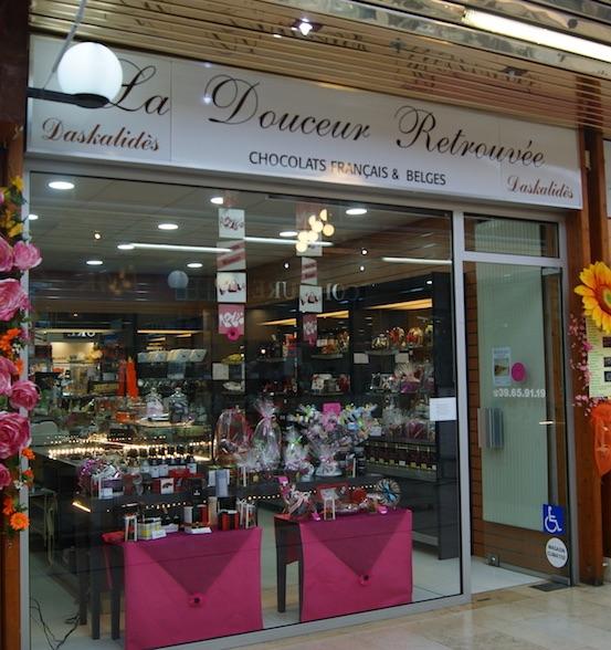 La douceur retrouvée, chocolaterie au centre commercial du Val de Seine à Vernouillet