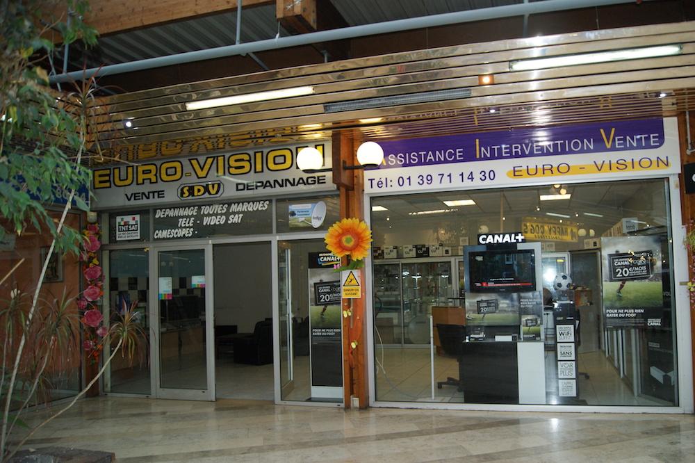 Euro Vision Dépannage au centre commercial du Val de Seine à Vernouillet