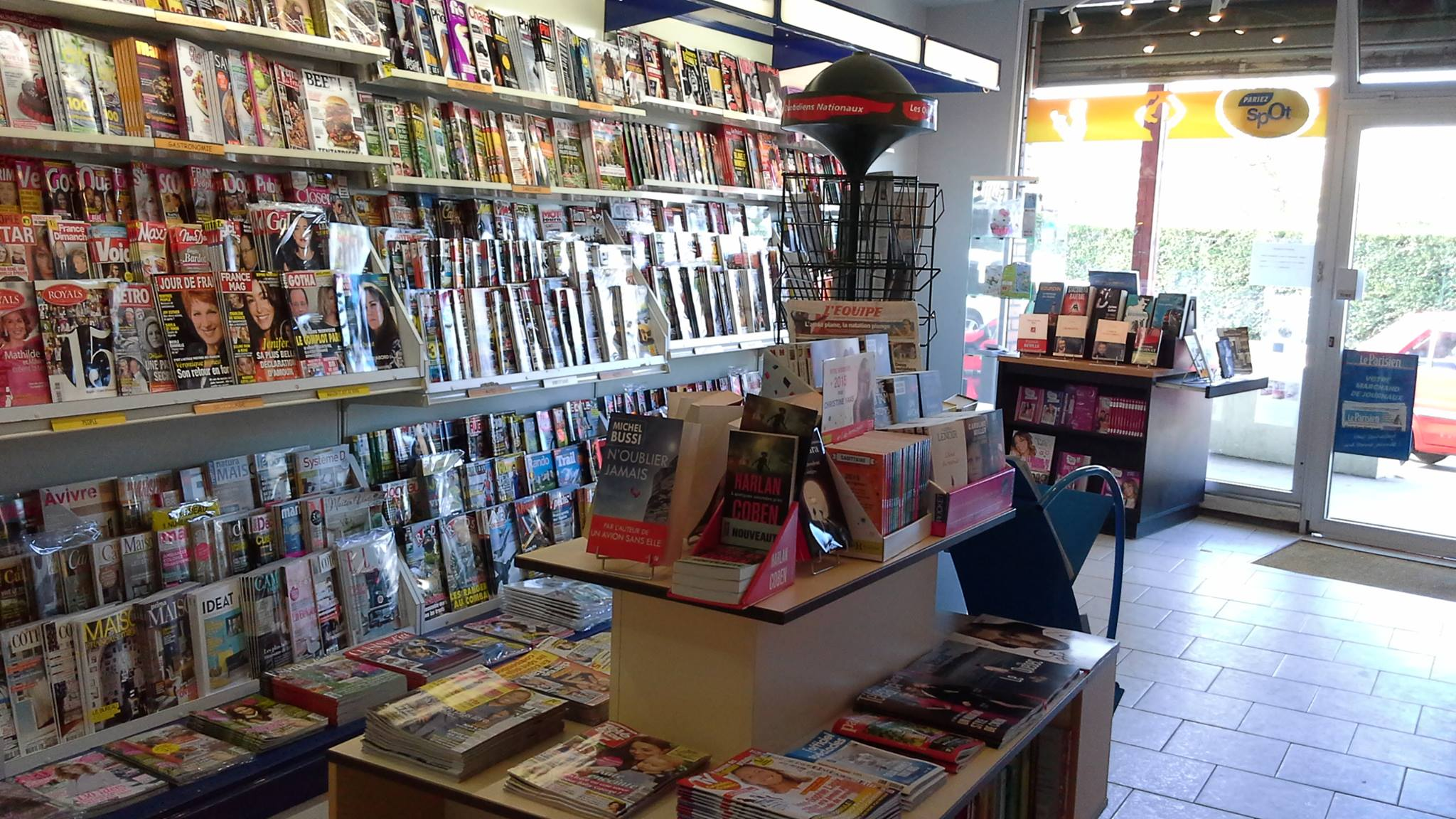 La librairie des Chatelaines à Triel-sur-Seine